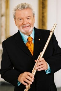 Sir James Galway, Flute - part of the MN Beethoven Festival @ Harriet Johnson Auditorium - Somsen Hall - WSU | Winona | Minnesota | United States