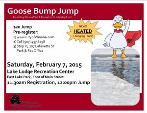 Winona Park & Rec Goose Bump Jump @ Lake Lodge Recreation Center | Winona | Minnesota | United States