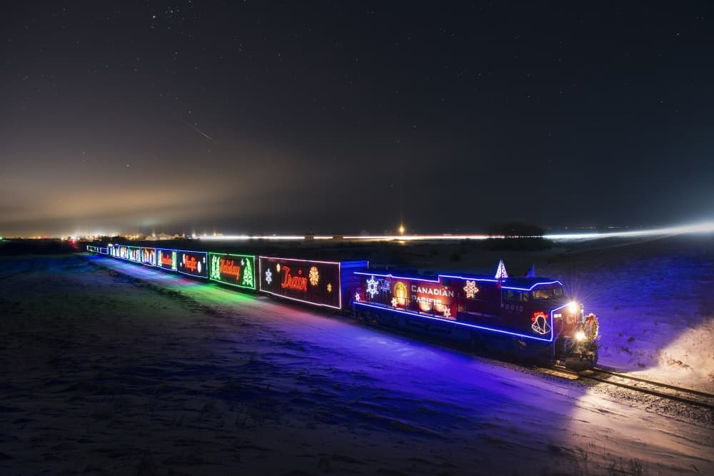 2016 Canadian Pacific Holiday Train @ Winona's Amtrak Station | Winona | Minnesota | United States
