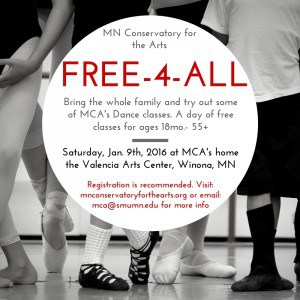 MCA Dance Free-4-All @ Minnesota Conservatory for the Arts/ Valencia Arts Center