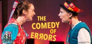 Great River Shakespeare Festival: Comedy of Errors @ WSU - Performing Arts Center | Winona | Minnesota | United States
