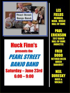Pearl Street Banjo Band Riverboat Revue @ Huck Finn's on the Water | La Crosse | Wisconsin | United States
